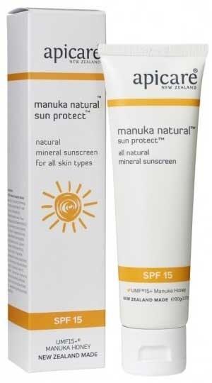 APICARE | Sun Protect Crème | Sonnenschutzcreme Faktor 15